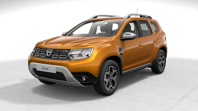 Profilansicht des Dacia Duster