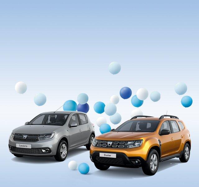 Dacia Jubiläum Sondermodelle