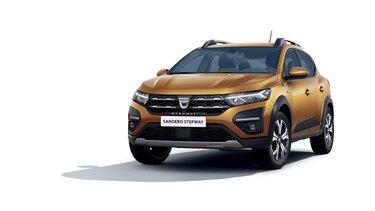 Frontansicht neuer  Dacia Sandero Stepway