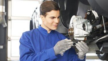 Service in der Dacia Fachwerkstatt