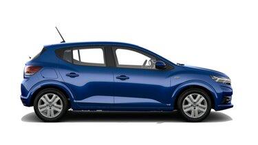 Profilansicht des neuen Dacia Sandero
