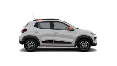 Profilansicht des neuen Dacia Spring