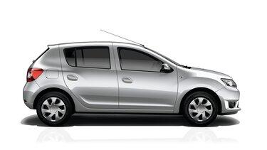 Profilansicht des Dacia Sandero