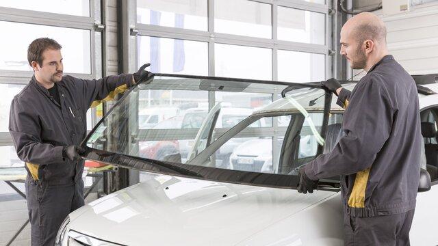 Dacia - Réparation pare-brise