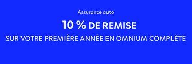 Promo 10% de remise sur Omnium complète - Dacia