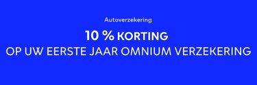 Promo OMNIUM verzekering - Dacia