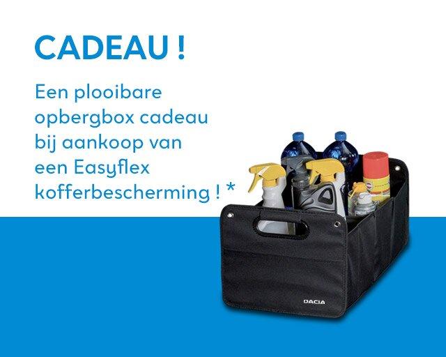Plooibare opbergbox - Gratis