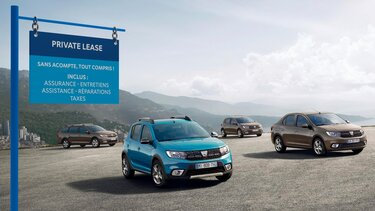 Private Lease - Dacia