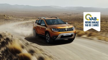 Dacia Duster SUV crossover voiture 4x4
