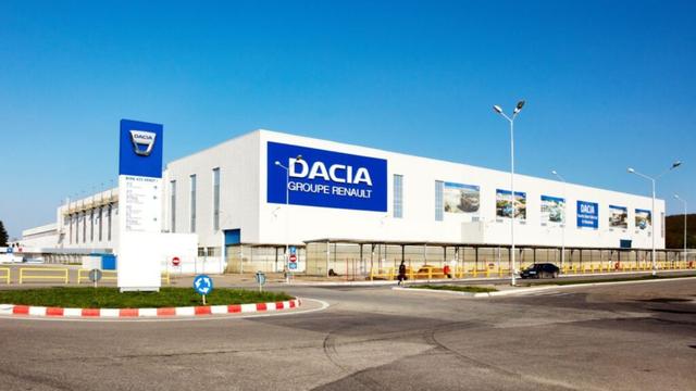 Usine Dacia 1999