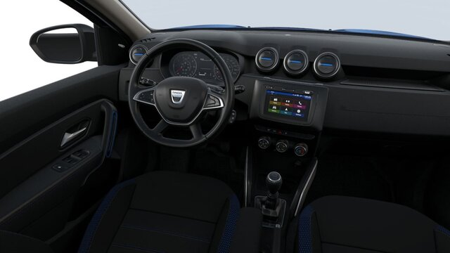 Dacia DUSTER HJD Red Line - Interior view of the car