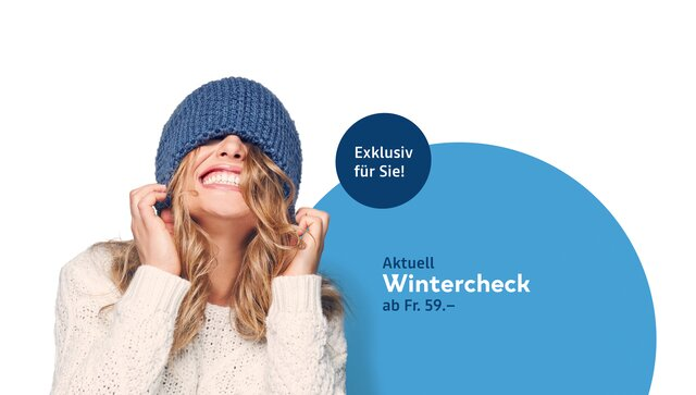 woman with winter hat - Service Winter-Angebote