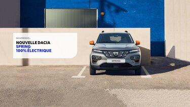 Spring Electric – La citadine électrique Dacia