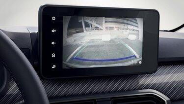 Zadní parkovací kamera – Nová Dacia Sandero