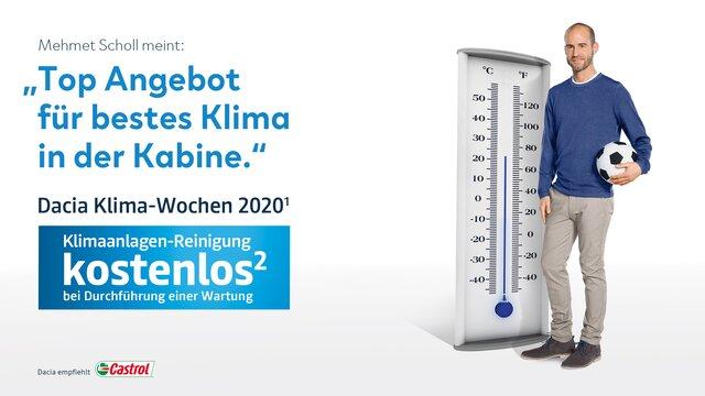 Dacia Klimawochen 2020