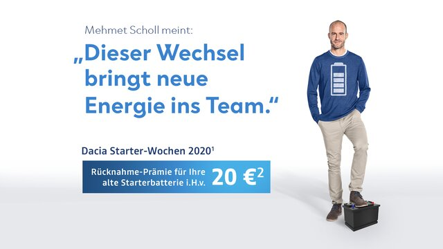 Dacia Starter-Wochen 2020