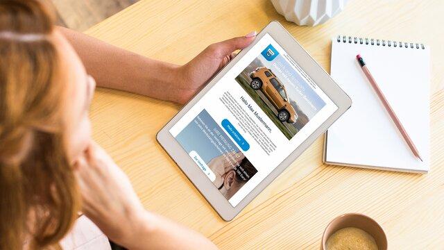 Dacia Deals Newsletter