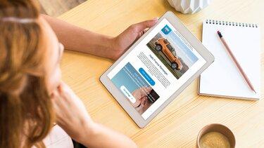 Dacia Broschüre anfordern