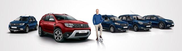 Dacia Range mit Mehmet Scholl