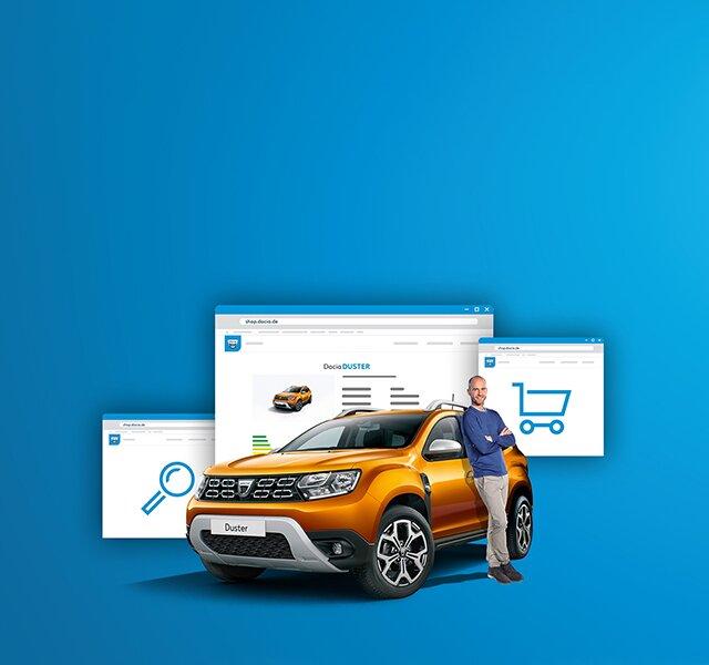 Der Dacia Shop - So geht Auto kaufen ganz schnell und einfach