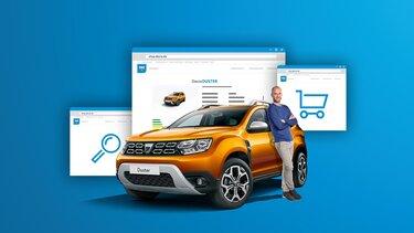 Der Dacia Online Shop