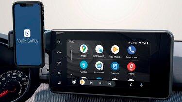 Der neue Dacia Jogger Smartphone-Spiegelung - Android Auto™ und Apple CarPlay™