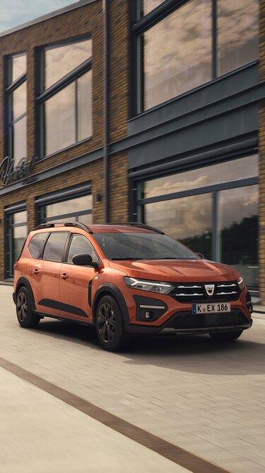 Der neue Dacia Jogger Bodenfreiheit