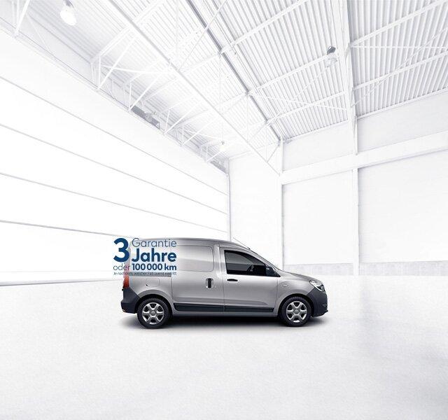 Dacia Dokker Express – Graues Freizeitfahrzeug
