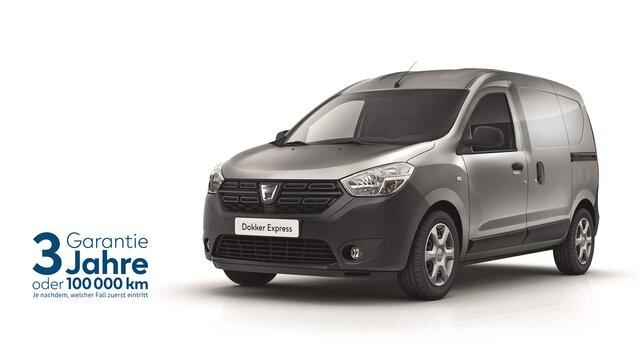 Dacia Dokker Express Gewerbekunden Angebot