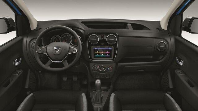 Dacia Dokker Stepway interior design 3