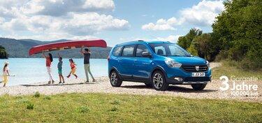 Dacia Lodgy - Außenansicht von hinten