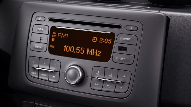 Dacia Radio Connect