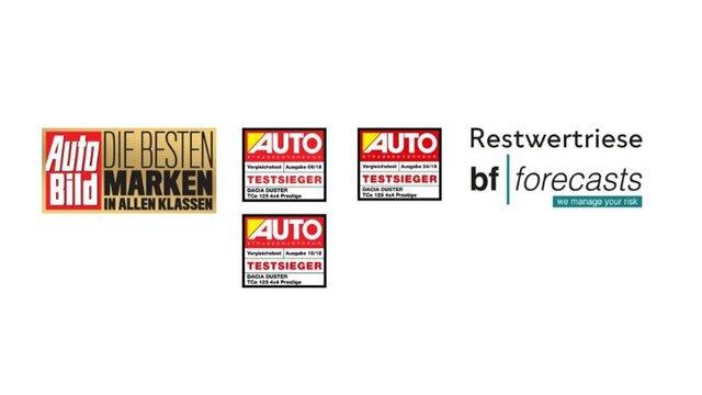 Dacia Duster Auszeichnungen