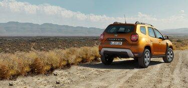 Duster Crossover orange