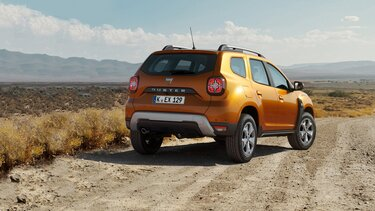 Duster Crossover orange
