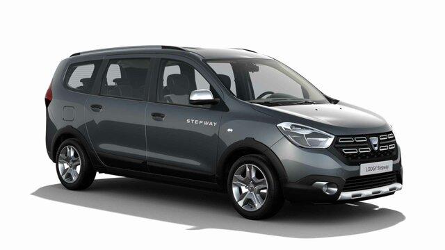 Dacia Lodgy – Exterieur des blauen Kompaktvans