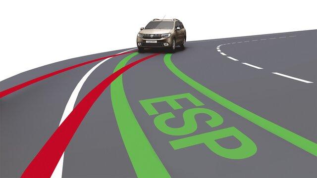 Dacia Logan MCV – Fahrerassistenzsysteme