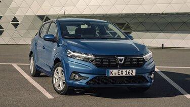 Dacia Sandero Stadtauto Frontpartie
