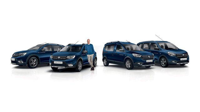 Dacia Stepway Modellpalette