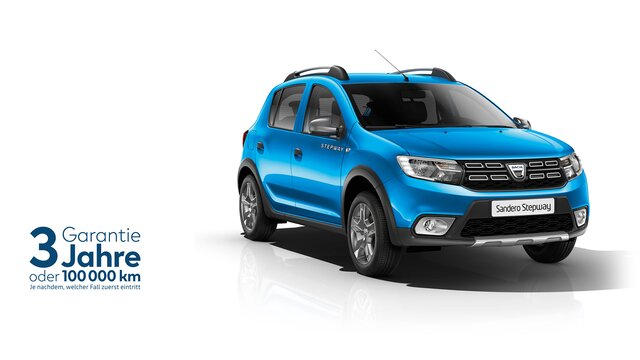 Dacia Sandero Stepway Gewerbekunden Angebot