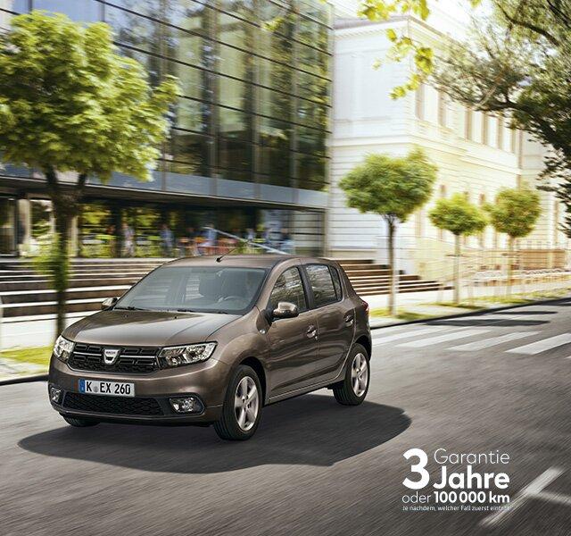 Dacia Sandero – Deutschlands günstigster Neuwagen