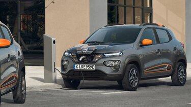 Spring Electric- Elektrisches Stadtauto von Dacia - Reichweite
