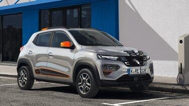Aufladen des Dacia Spring
