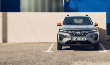 Dacia Spring Parken