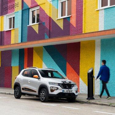 Reichweite und Batterie des Dacia Spring Electric
