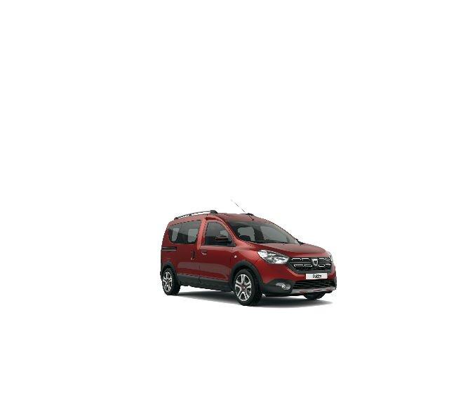 Dacia Dokker Stepway Serie Limitada Techroad Rojo Fusión - Vista trasera de 3/4