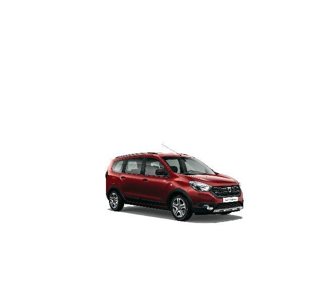 Dacia Lodgy Stepway Serie Limitada Techroad Rojo Fusión - Vista trasera de 3/4