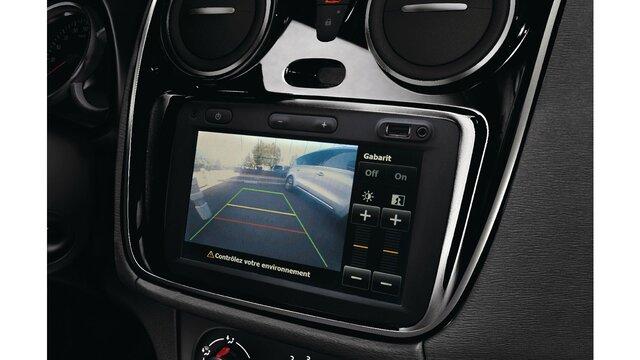 Caja negra con vídeo integrado Dacia Logan