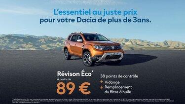 Dacia - Révision eco