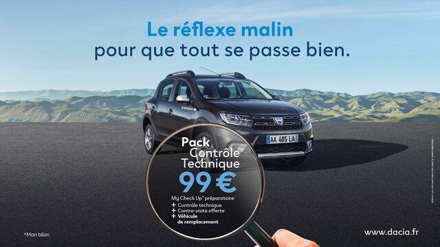 Dacia - Contrôle technique